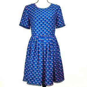 Kenzo Silk Mini Dress